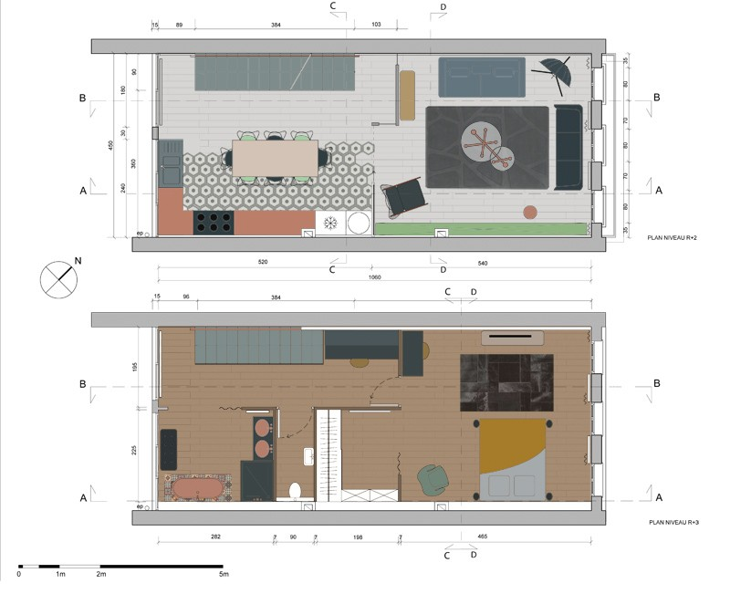 Plans de coupe archives decor interieur your interior design from a to z with plan coupe maison