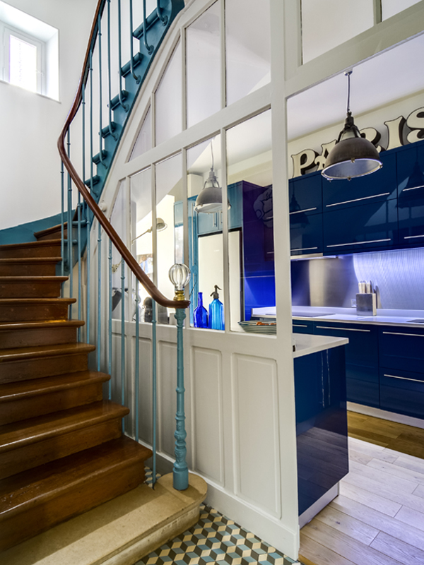 Escalier-cuisine