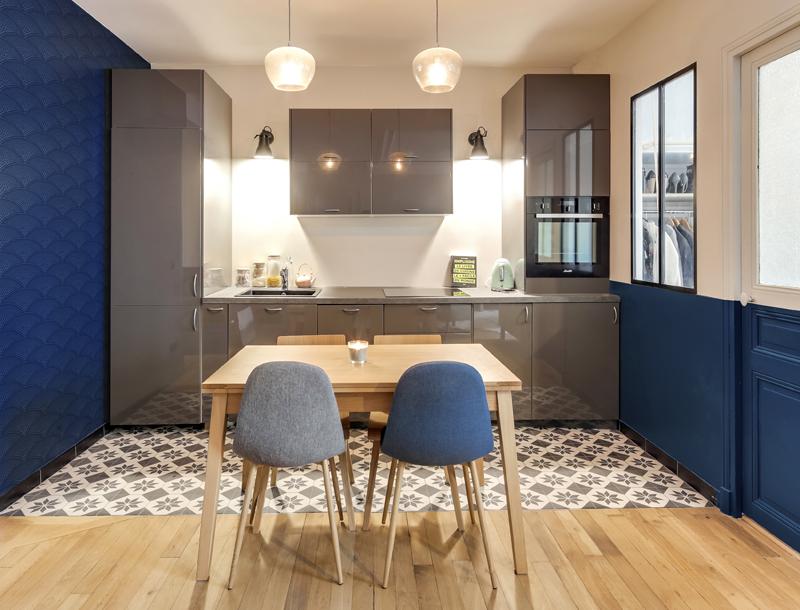 Ouvrir l\'espace d\'un petit appartement haussmannien - Decor Interieur