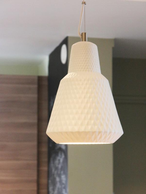 Vue luminaire cuisine