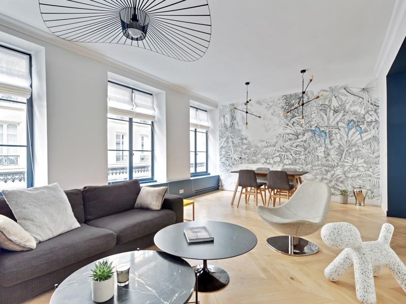 Bonne Nouvelle salon et living