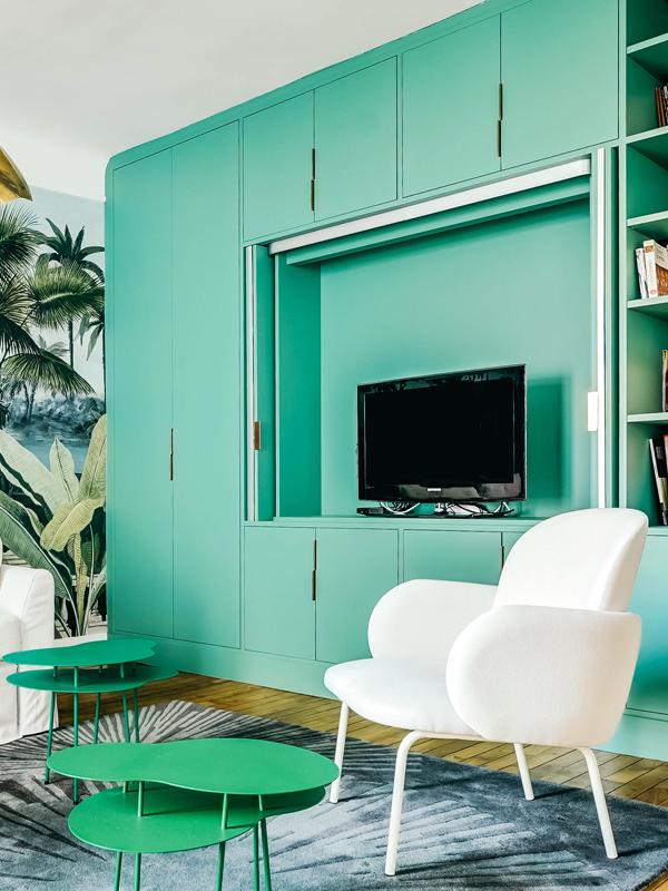 4_Port-Royal-détail meuble TV ouvert